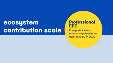 Contribution scale - Professional EEE